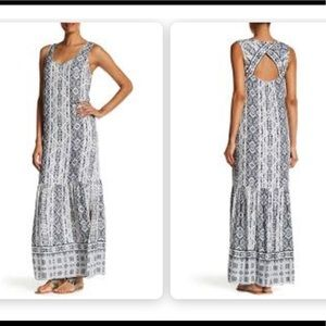 Splendid pattern maxi dress